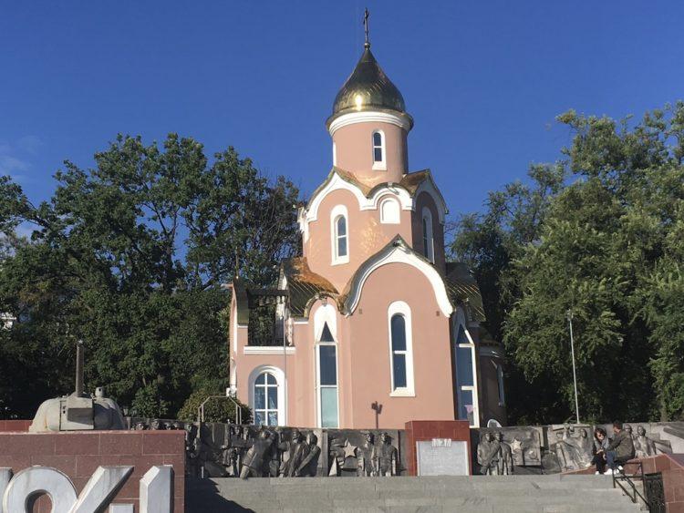 ウラジオストクのアンドレイ教会