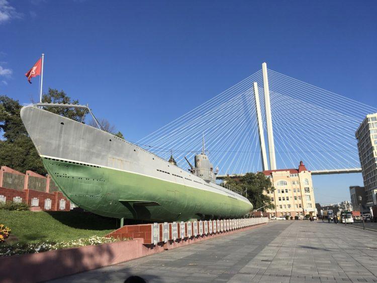 ウラジオストクの潜水艦C−56博物館