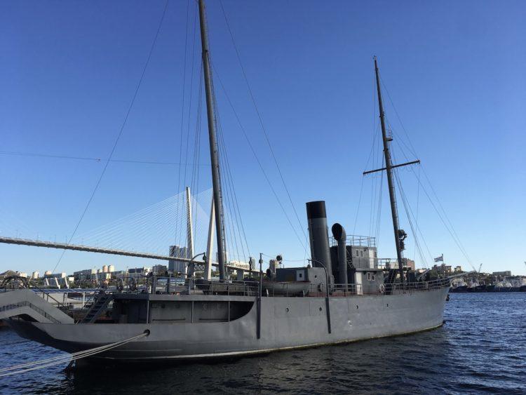 ウラジオストク クラースヌイ・ヴィムベル軍艦
