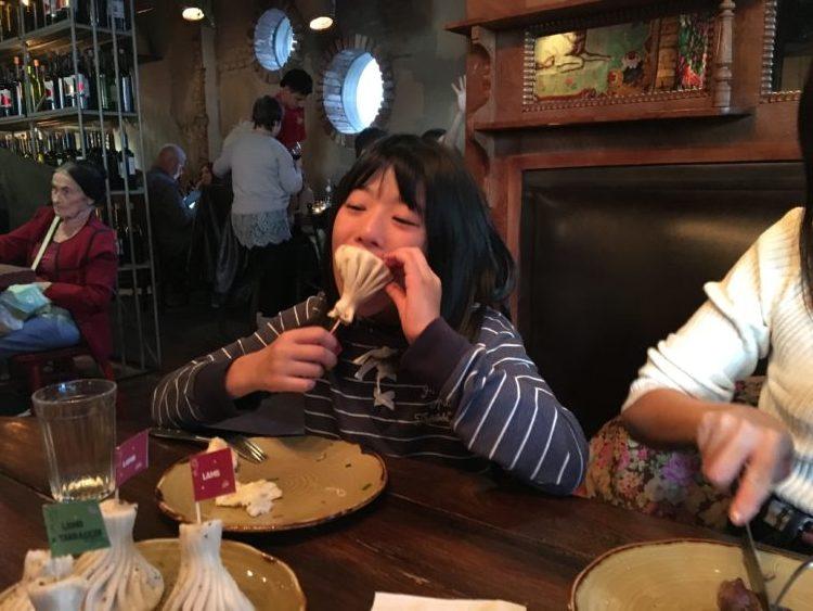 ウラジオストクおすすめレストラン スプラの名物料理ヒンカリ