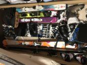もう保管場所や保管方法で困らない!スキー・スノボの究極の収納場所!