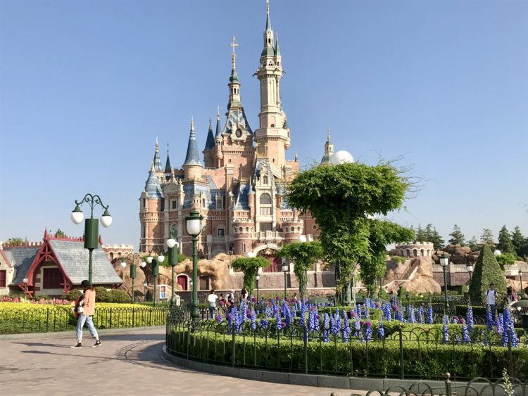 上海ディズニーランド シンデレラ城お城