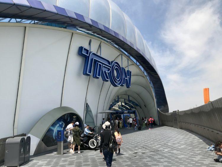 上海ディズニーランド トロン