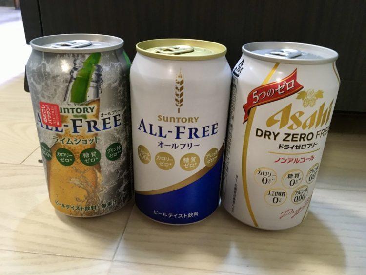 禁酒・断酒時、お酒の代わりに何を飲む?オススメの飲み物 第5位 ノンアルコールビール