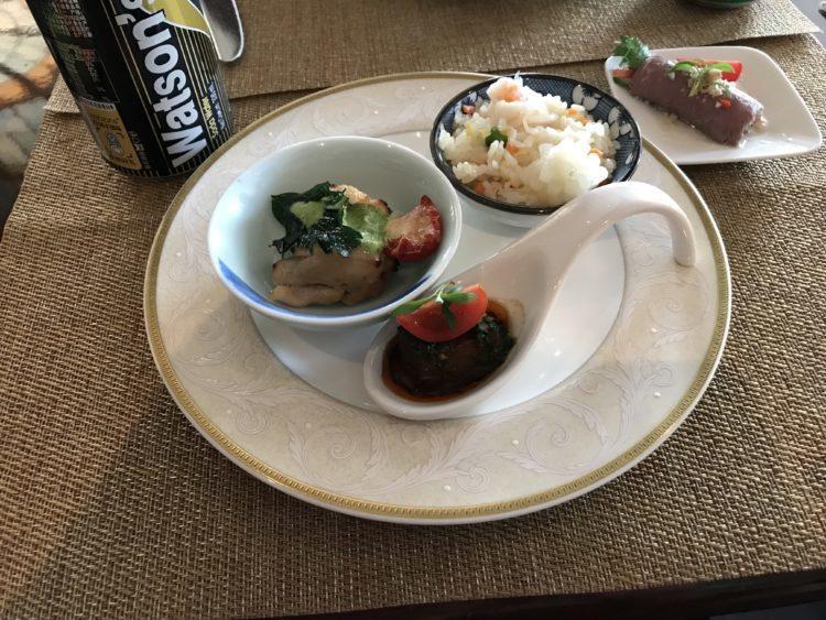 上海ディズニーランドホテル クラブレベル ラウンジの夕食