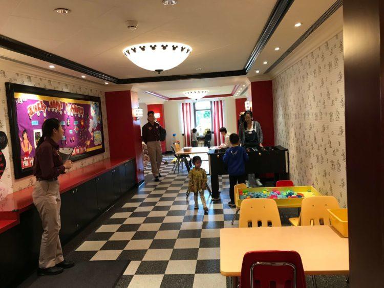 上海ディズニーランドホテル内の子供が楽しめる、ミッキーマウス・プレイハウス