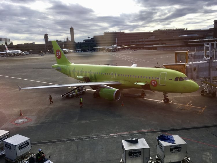 S7航空の機体