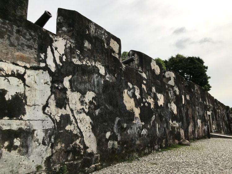 モンテの砦の砲台