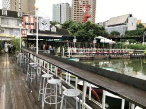 飯田橋「CANAL CAFE」