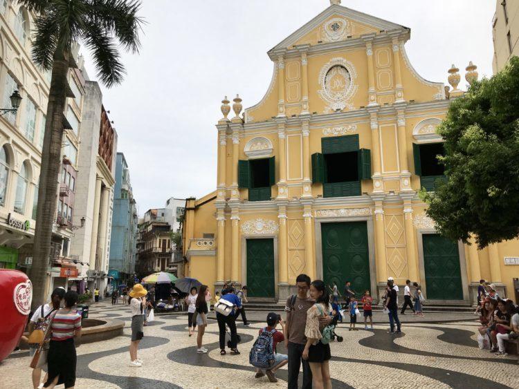 マカオの世界遺産 聖ドミニコ教会