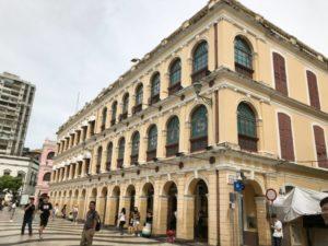 セドナ広場の建物