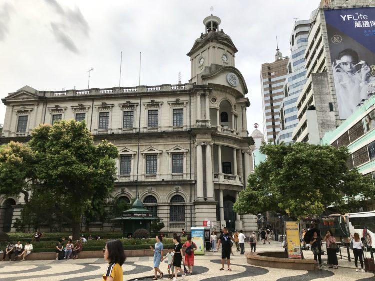 マカオ・セドナ広場の中央郵便郵局、郵政總局