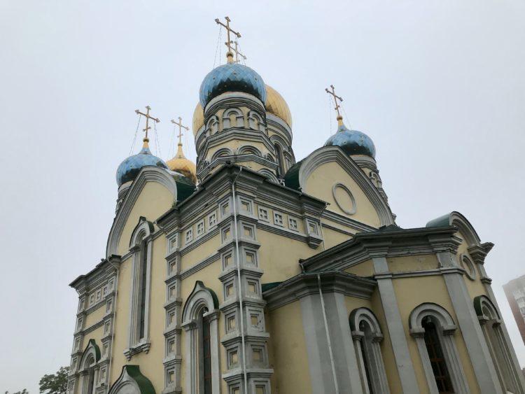 インスタ映えするウラジオストク フォトジェニックスポット パクロフスキー教会