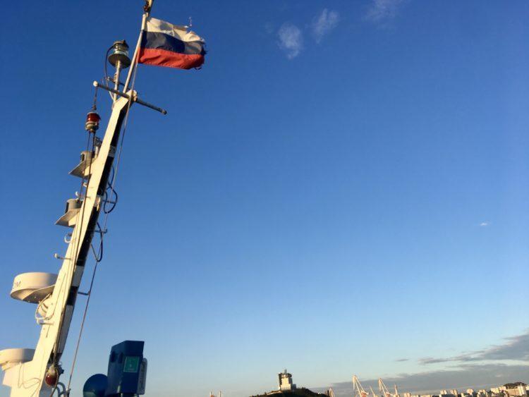 インスタ映えするウラジオストク フォトジェニックスポット 金角湾〜ルースキー大橋遊覧船(フェリー)