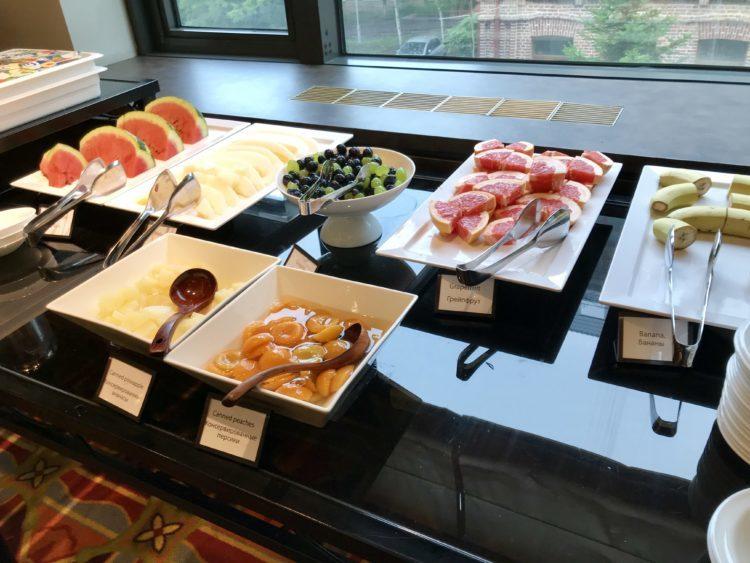 ウラジオストク ロッテホテルの朝食