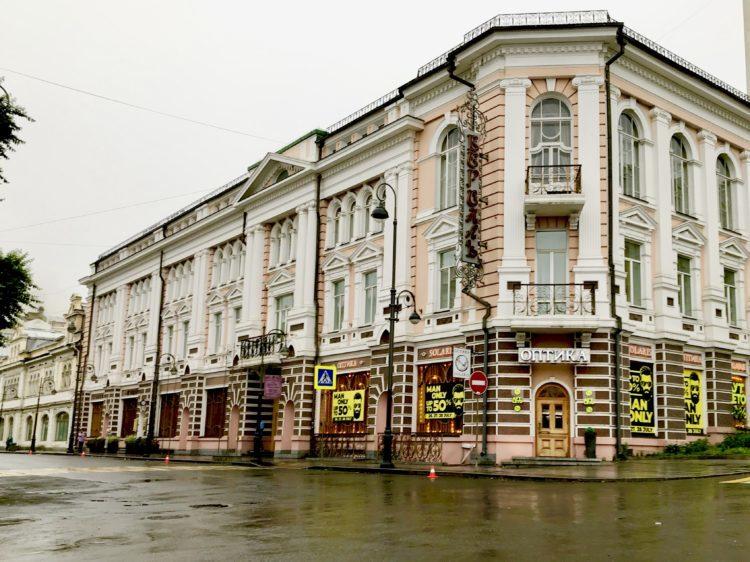 ウラジオストク ベルサイユホテルの外観