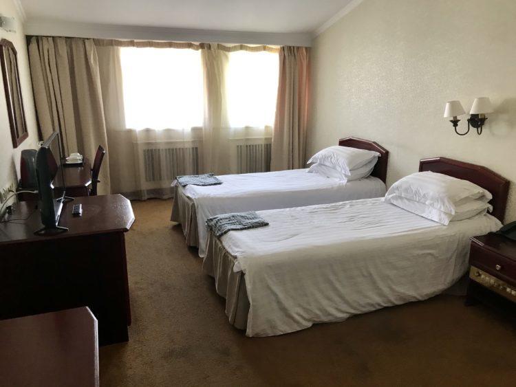 ウラジオストク ベルサイユホテルの客室
