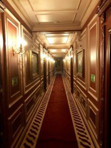 ウラジオストクの宮殿ホテルヴィラ アルテ ホテル( Villa Arte Hotel)の廊下