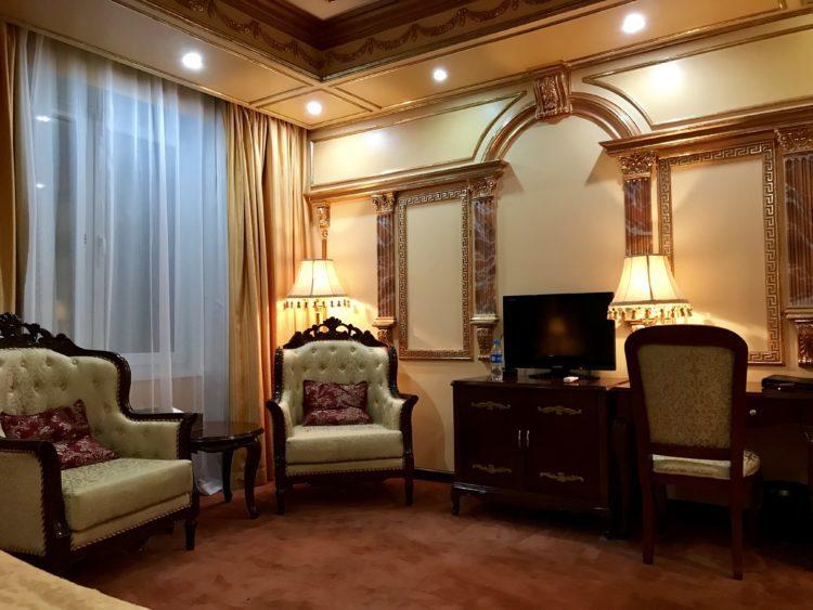 ウラジオストクの宮殿ホテルヴィラ アルテ ホテル( Villa Arte Hotel)の客室