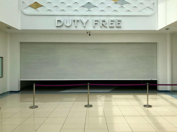 ウラジオストク空港出国後も免税店