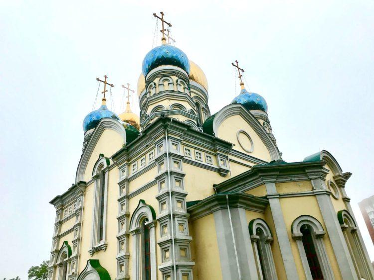 ウラジオストクのロシア正教会 ポクロフスキー教会