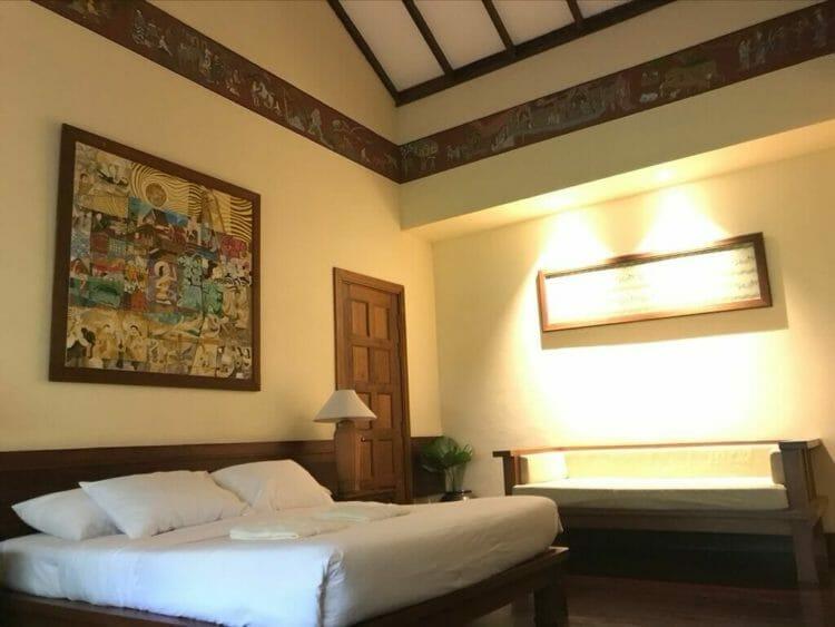 世界三代仏教遺産バガンのオールドバガン内にあるザ ホテル@タラバー ゲートの部屋