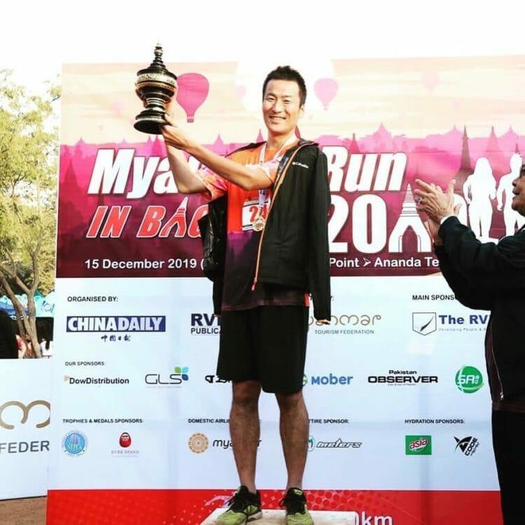 Myanmer Run 2019@Bagan バガンのマラソン大会に参加したらなんと優勝!