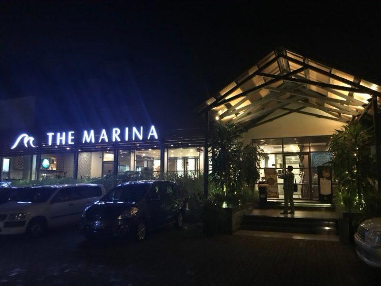 ヤンゴンでオススメインドカレー3選 第1位 The Marinaの外観
