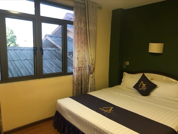 露天風呂温泉とサウナと夜景を堪能できるミャンマーの東屋ホテルの客室