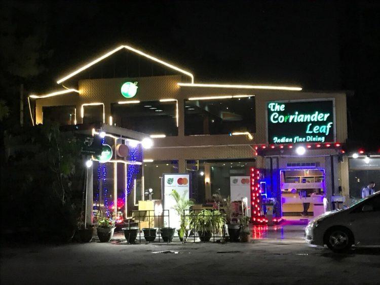 ヤンゴンでオススメインドカレー3選 第3位 The Corriander Leaf: Indian Family Diningの外観