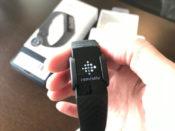 フィットビット チャージ4(fitbit charge 4)本体を起動