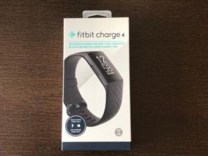 フィットビット チャージ4(fitbit charge 4)パッケージ外観