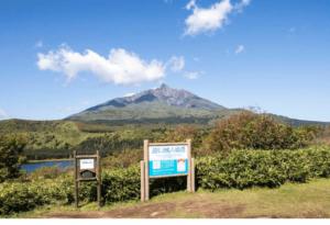 折りたたみ自転車で利尻島一周 観光スポット&見どころその3 白い恋人の丘(沼浦展望台)
