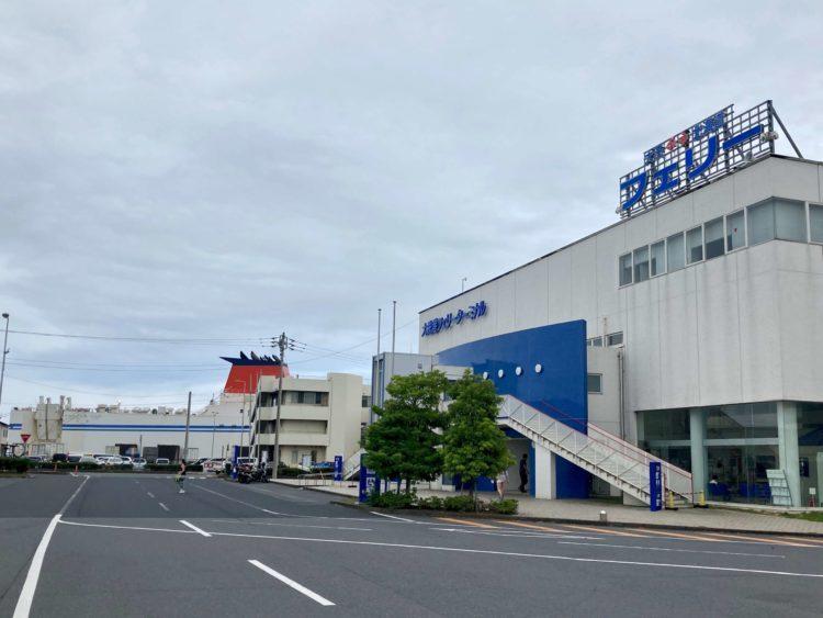 日本一周Nバン車中泊 1日目 大洗〜苫小牧フェリー さんふらわあのフェリーターミナル