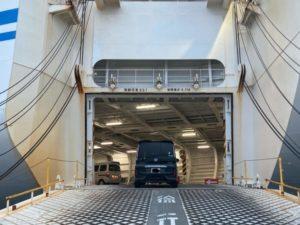 日本一周Nバン車中泊 1日目 大洗〜苫小牧フェリー さんふらわあのに車で乗船