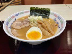 日本一周Nバン車中泊 1日目 大洗〜苫小牧フェリー さんふらわあのレストランの味噌ラーメン