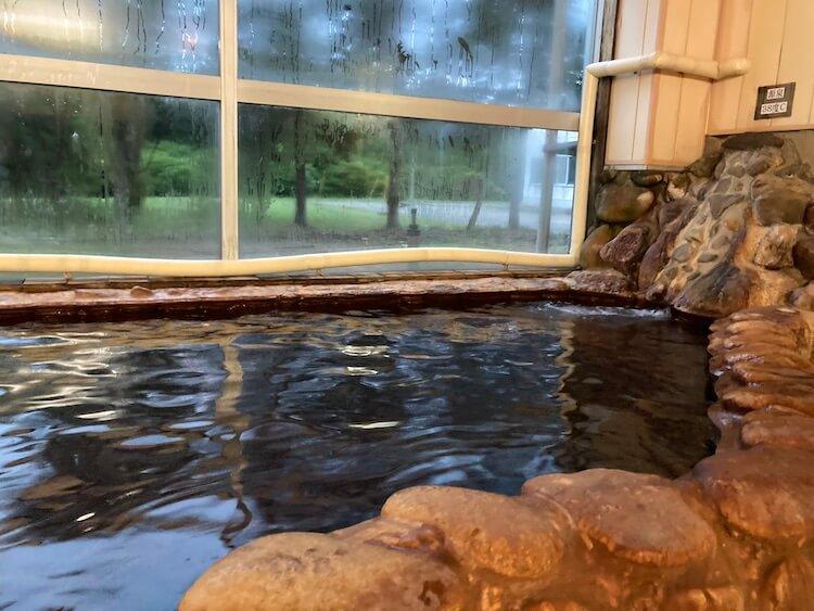 湯巡り日本一周Nバン車中泊5湯目 湯の岱温泉郷 国民温泉保養センターの源泉
