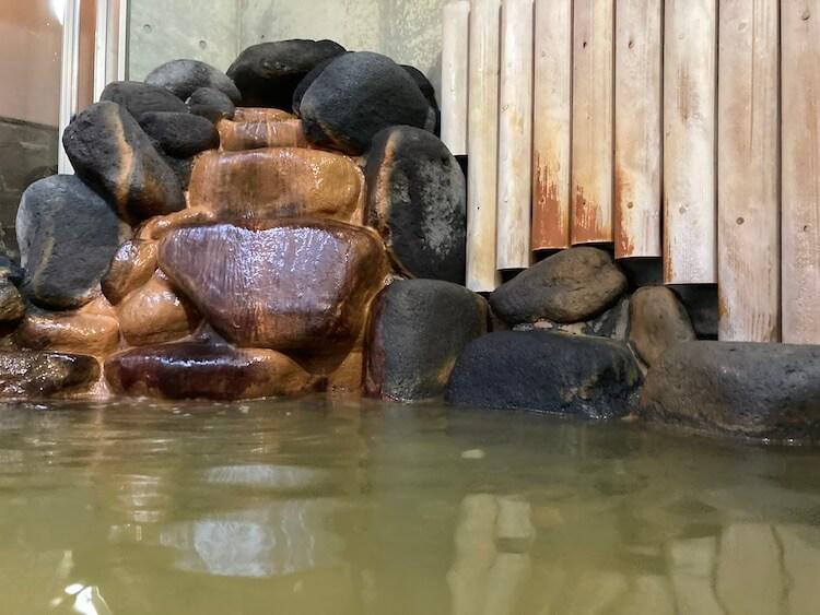 苫前温泉ふわっとの露天風呂