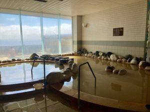湯巡り日本一周Nバン車中泊11湯目 利尻ふれあい温泉 ホテル利尻の内湯