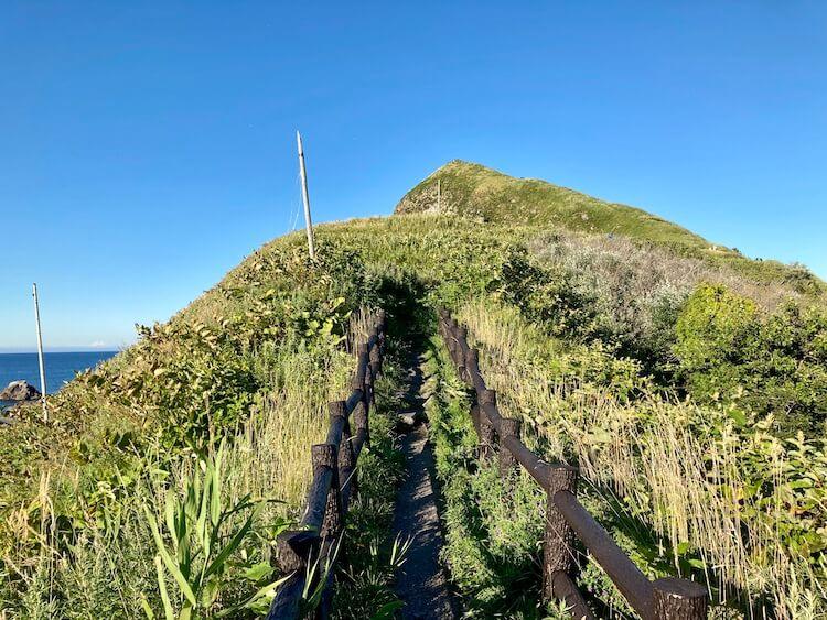 折りたたみ自転車で利尻島一周 観光スポット&見どころその8 ペシ岬