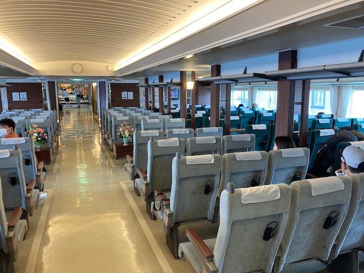 いざ利尻島/礼文島へ!ハートランドフェリー初乗船!2等指定席。