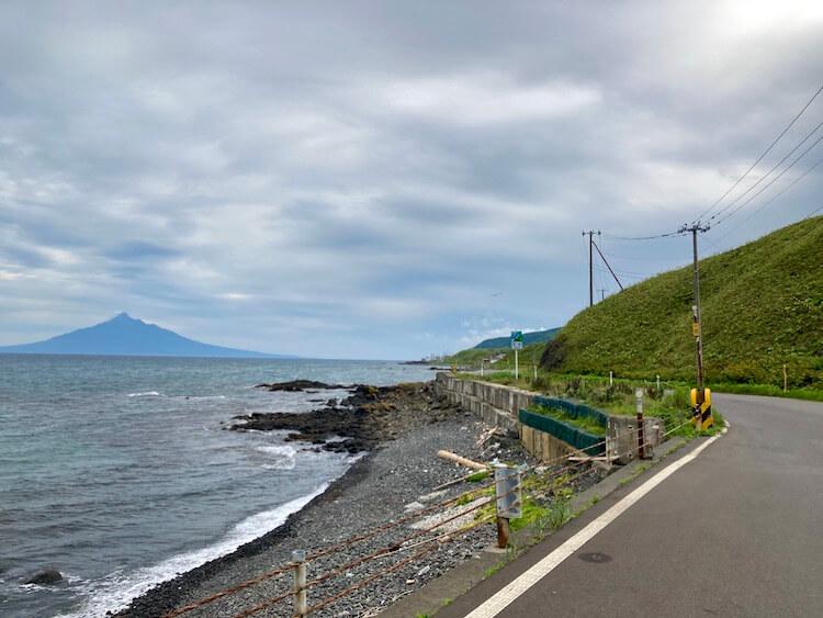 礼文島の風景