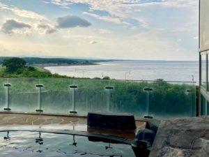湯巡り日本一周Nバン車中泊13湯目 オホーツク温泉 ホテル日の出岬の露天風呂