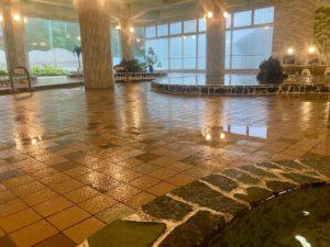 湯巡り日本一周Nバン車中泊14湯目 網走湖畔温泉 ホテル網走湖荘の内風呂