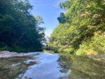 カムイワッカ湯の滝一の滝、二の滝