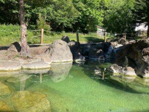 秘境知床の宿 岩尾別温泉 地の涯(ちのはて)の露天風呂 下の湯