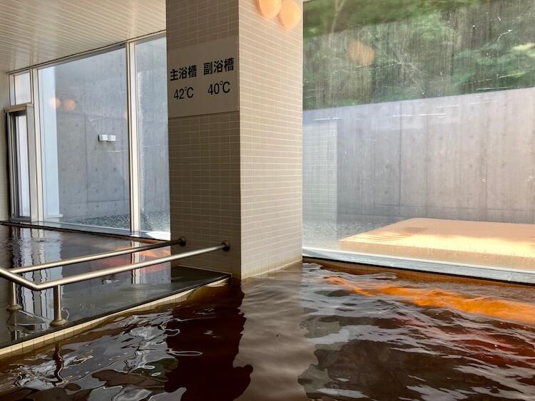 新ひだか町天然温泉の静内温泉の内湯