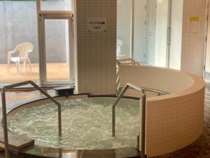 新ひだか町天然温泉の静内温泉のバイブラ浴槽