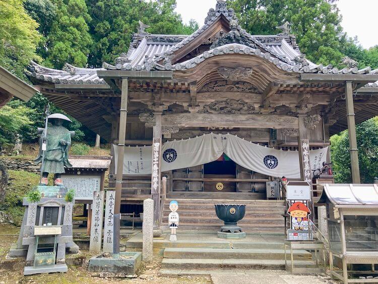 金剛山 藤井寺(ふじいでら)の本堂