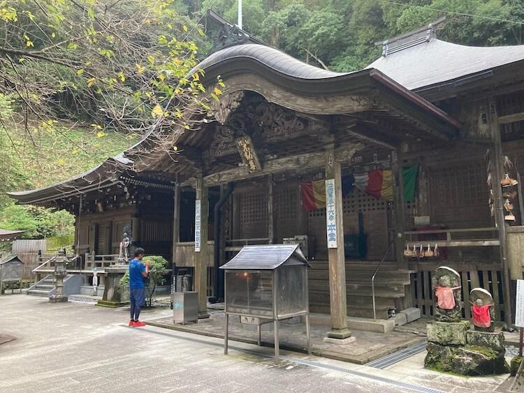 独鈷山 青竜寺(しょうりゅうじ)の本堂